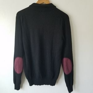 Cashmeren Elbow Patches Longsleeve Sweater M